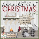 Farmhouse Christmas Clipart