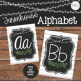 Farmhouse Classroom Alphabet Cursive and Print