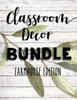 Farmhouse Classroom BUNDLE