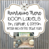 Farmhouse Classroom Library Book Labels