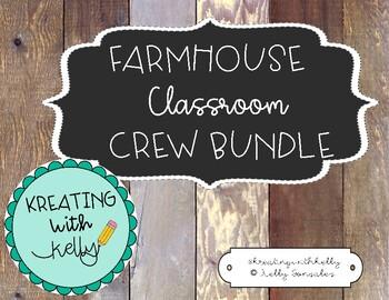 Farmhouse Classroom Crew Bundle