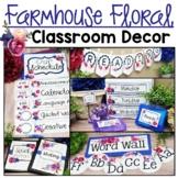 Farmhouse Classroom Decor Theme
