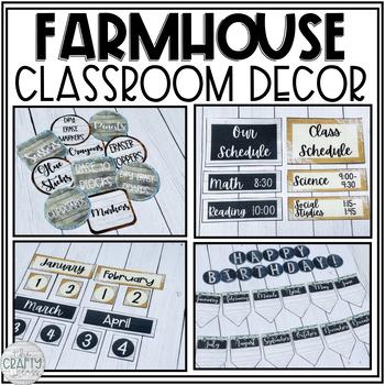 Farmhouse Classroom Decor Bundle