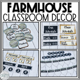 Farmhouse/Shabby Chic/Shiplap Classroom Decor Bundle
