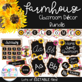 Farmhouse Classroom Theme Decor Bundle | Farmhouse Classro
