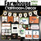 Farmhouse Classroom Décor Bundle-Waco Style {Editable}