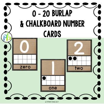 Farmhouse Classroom Decor {Burlap and Chalkboard}