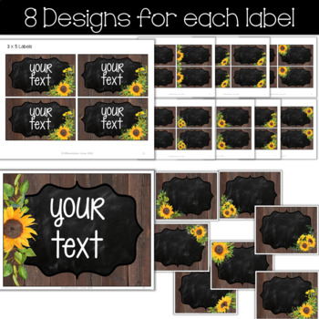 Farmhouse Classroom Decor Editable Labels