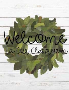 Farmhouse Classroom Decor GROWING BUNDLE