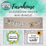 Farmhouse Classroom Decor Mini Bundle