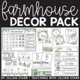 Farmhouse Classroom Decor Pack