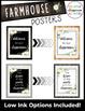 Farmhouse Classroom Decor Posters