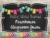 Farmhouse Classroom Decor Set