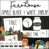 Farmhouse Classroom BUNDLE with White Shiplap