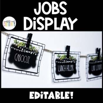 Farmhouse Classroom Jobs