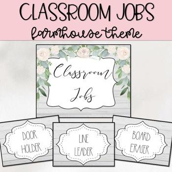 Farmhouse Classroom Jobs