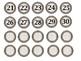 Farmhouse Classroom Numbers