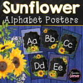 Farmhouse Classroom Theme Alphabet Posters