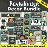 Farmhouse Classroom Theme Decor Bundle 50% OFF back to school