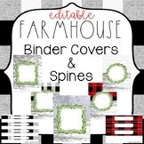 Farmhouse Classroom Theme Decor {Farmhouse Binder Covers &