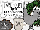 Farmhouse Classroom Theme Decor Pack