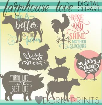 Farmhouse Clipart