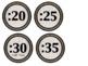 Farmhouse Clock Numbers
