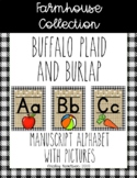 Farmhouse Collection alphabet WITH pictures