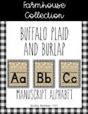 Farmhouse Collection alphabet posters