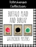 Farmhouse Collection color posters
