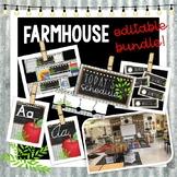 Farmhouse Decor Bundle - Editable - Corrugated Metal