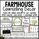 Farmhouse Counseling Decor Set