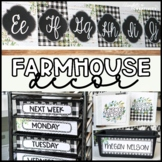 Farmhouse Classroom Theme Decor Bundle