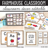Farmhouse Classroom Decor Bundle - Rustic Classroom Decor