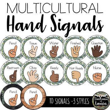 Farmhouse Decor: Classroom Management Hand Signals
