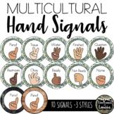 Farmhouse Decor: Classroom Management Hand Signals