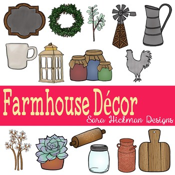 Farmhouse Decor Clipart