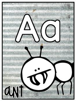 Farmhouse Decor {alphabet}