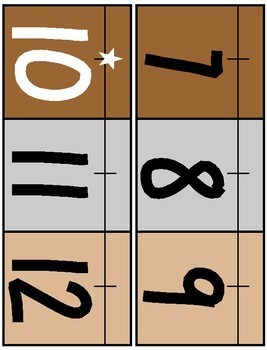Farmhouse Theme Classroom Number Line
