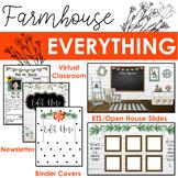 Farmhouse Everything BUNDLE  Digital & Print Items for Cla