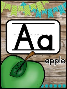 Farmhouse Flair Alphabet Posters