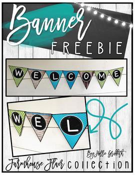 Farmhouse Flair Banner FREEBIE
