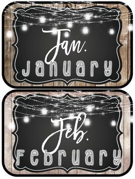 Farmhouse Flair Birthday Display {editable}