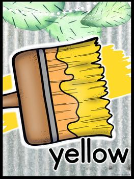 Farmhouse Flair Cactus Color Posters