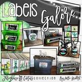 Editable Classroom Labels   Farmhouse Flair Cactus Classroom Decor