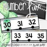 Farmhouse Flair Cactus Number Line {-100-250}