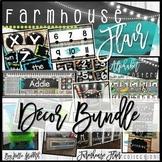 Farmhouse Flair Classroom Decor BUNDLE