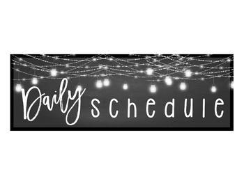 Farmhouse Flair Daily Schedule