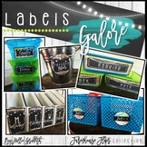 Farmhouse Flair Editable Labels {Library Labels, Supply La