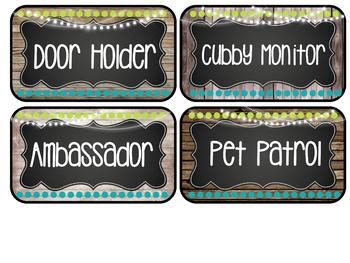 Farmhouse Flair Job Board {editable}